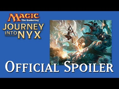 exclusive - LRR's exclusive spoiler card for Journey Into Nyx, and one that seems it could actually see Standard play... or at least disrupt some of the top decks a little.