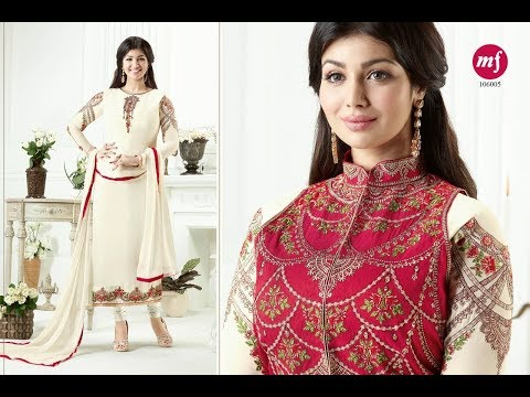 Latest Indian Dresses Collections 2017    MF Fashion     AYESHA TAKIA MF PAKIZA SUITS