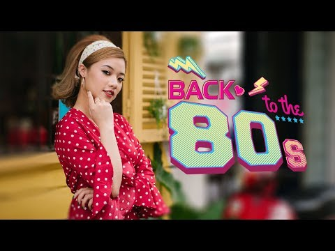 Hairstyles - TRỞ VỀ THẬP NIÊN 80 CÙNG FANNY (MAKE UP, HAIRSTYLE, OUTFIT)  BACK TO THE 80s
