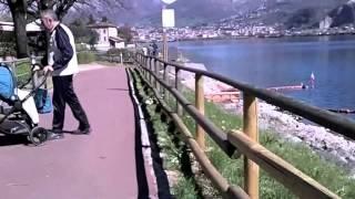 In bici da Garlate a Pescate
