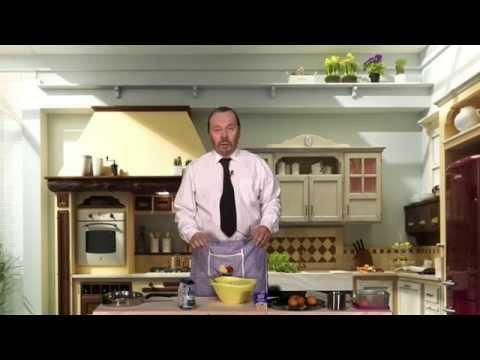 Lino D'Angiò e la ricetta del casatiello di Rafa Benitez