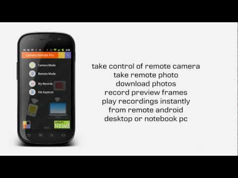 Video of Camera Remote