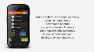 Camera Remote YouTube video