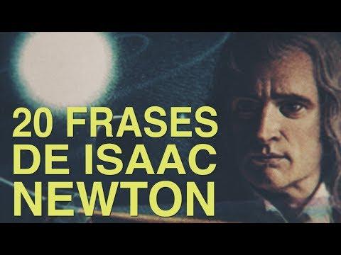 Poemas cortos - 20 Frases de Isaac Newton  Fundador de la física clásica