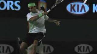 http://www.tennismindgame.com/roger-federer.html Super slow motion videos of Roger Federer - hitting mostly forehands and a ...