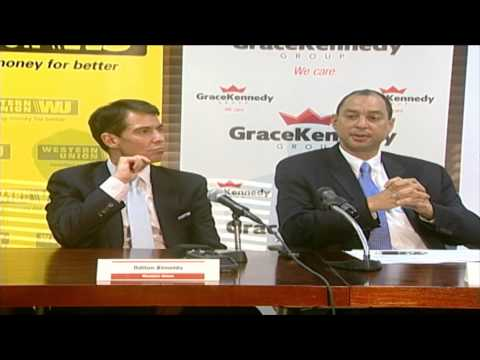 GraceKennedy & Western Union partner to boost the remittance experience; GDP declines by 0.30% in Dec. Qtr - The Owen James Report - February 24, 2015