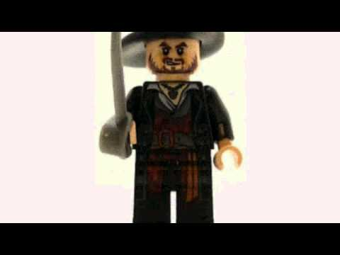 Video YouTube analysis of the Pirates Of The Caribbean Minifig Hector
