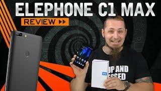 """Elephone hat mit dem C1 Max ein 6"""" Smartphone der Einsteigerklasse mit hochwertiger Optik auf den Markt gebracht. Schauen..."""