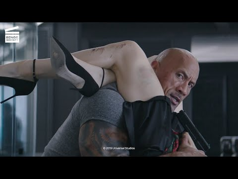Fast and Furious: Hobbs and Shaw: Hobbs and Hattie flirting HD CLIP