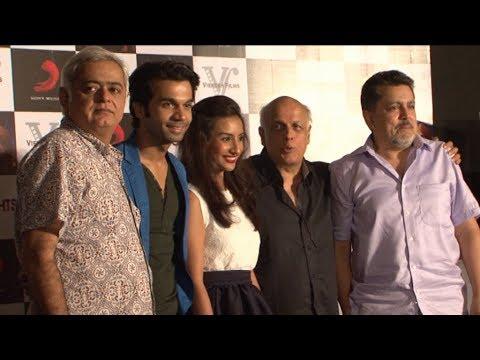 Raj Kumar Rao,Patralekha,Mahesh Bhatt At Press Meet For Movie City Lights