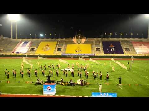 กรมพละ - ภาพการแข่งขัน Display วงโยธวาทิต PSP Marching Band ณ สนามศุภชลาศัย กรมพละศึกษา ในวันที่ 10 มกราคม 2558...