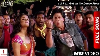 Chennai Express Song - 1 2 3 4... Get on the Dance Floor - Shah Rukh Khan&Priyamani