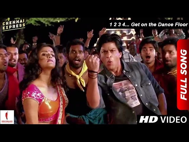Chennai express song 1 2 3 4 get on the dance floor shah for 1 2 3 4 get on the dance floor mp3