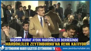 Başkan Murat Aydın Mardinliler Derneğinde