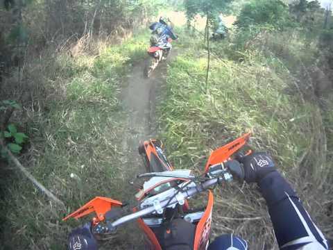 trilha em Uberaba