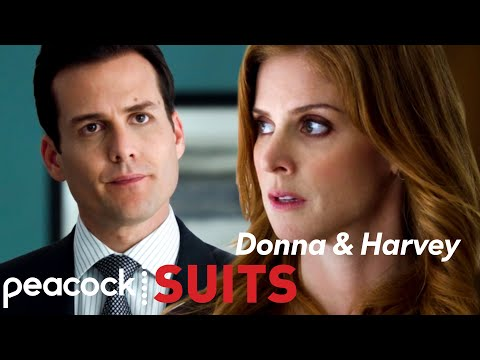 Chemistry Between Harvey and Donna | SEASON 1 | Suits