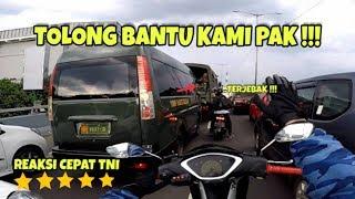 Video REAKSI CEPAT TNI BANTU AMBULANCE | ESCORTING AN AMBULANCE #26 MP3, 3GP, MP4, WEBM, AVI, FLV Juni 2019