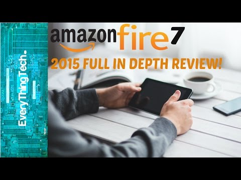Amazon Fire 7 2015 Full In Depth Review!
