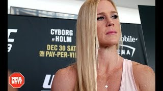 Video Holly Holm Gives An Update On Teammate Jon Jones l UFC 219 MP3, 3GP, MP4, WEBM, AVI, FLV Juli 2018