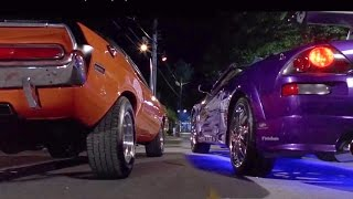 Nonton 2 FAST 2 FURIOUS - Pink Slip Race (Eclipse & Evo vs Camaro & Challenger) #1080HD Film Subtitle Indonesia Streaming Movie Download