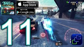 NEED FOR SPEED No Limits Android iOS Walkthrough - Part 11 - Underground: Chapter 4: RPM, EA Games, video games