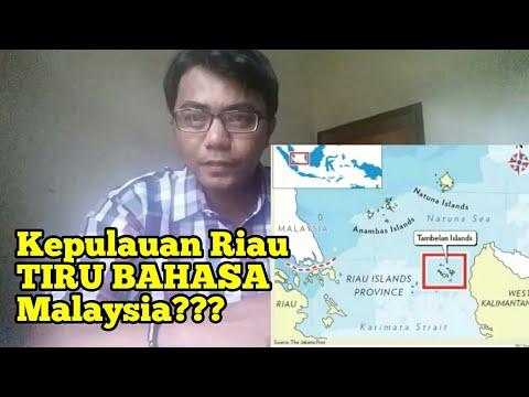 KENAPA MELAYU KEPULAUAN RIAU BERCAKAP MACAM MALAYSIA ?