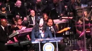 "Houston Poet Laureat Gwendolyn Zepeda reads inaugural Poem ""Like the Lantana; Inaurguaration of Mayor, Comptroller, and..."
