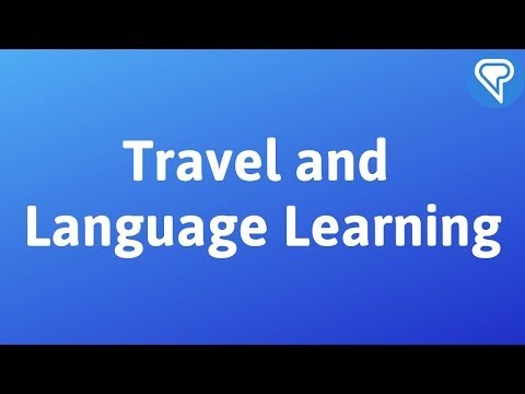 Travel and Language Learning