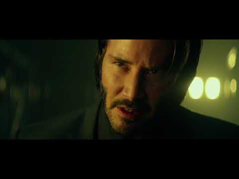 Intense:  Hand me your son, or you can die screaming along side him - John Wick