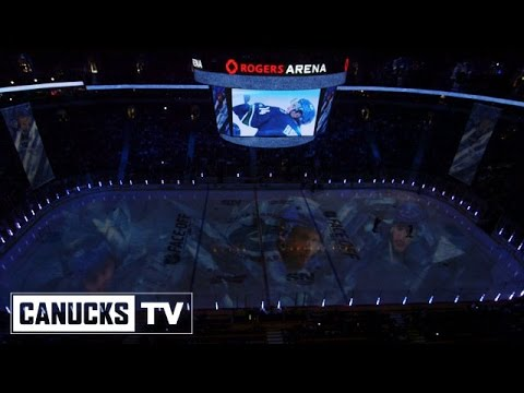 Vancouver Canucks 2014-15 Opener