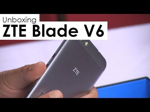 ZTE Blade V6 - Unboxing