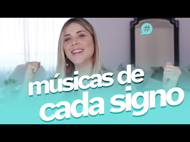 Quais são as músicas de cada signo?! |#MiSignos| - Mica Rocha
