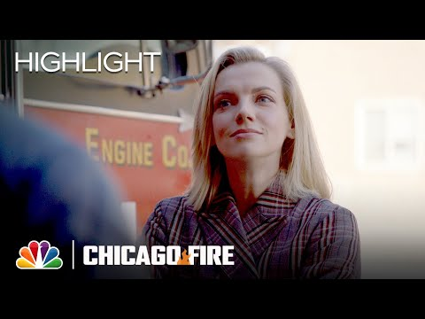 Sylvie Brett Asks Grainger Out - Chicago Fire