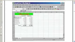 Excel Q 11 20شرح حل اسئله امتحان اكسل 2010