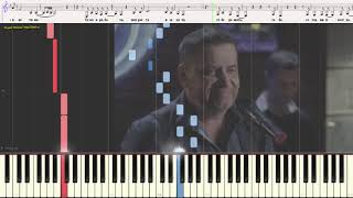 """Такая работа - гр. """"Любэ"""" (Ноты и Видеоурок для фортепиано) (piano cover)"""