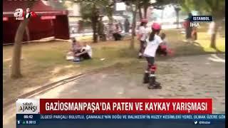 Gaziosmanpaşa' Da Kaykay, Paten Ve Scooter Yarışı-A Haber