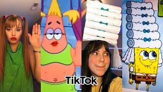 Billie Eilish Bad Guy Plot Twist Spongebob (Tik Tok Compilation)