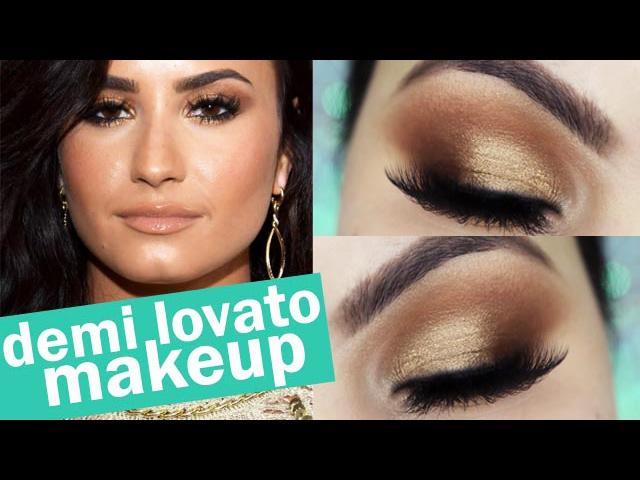 Demi Lovato Grammy Makeup Tutorial - Maquiagem Diva em 5 minutos - Pausa para Feminices