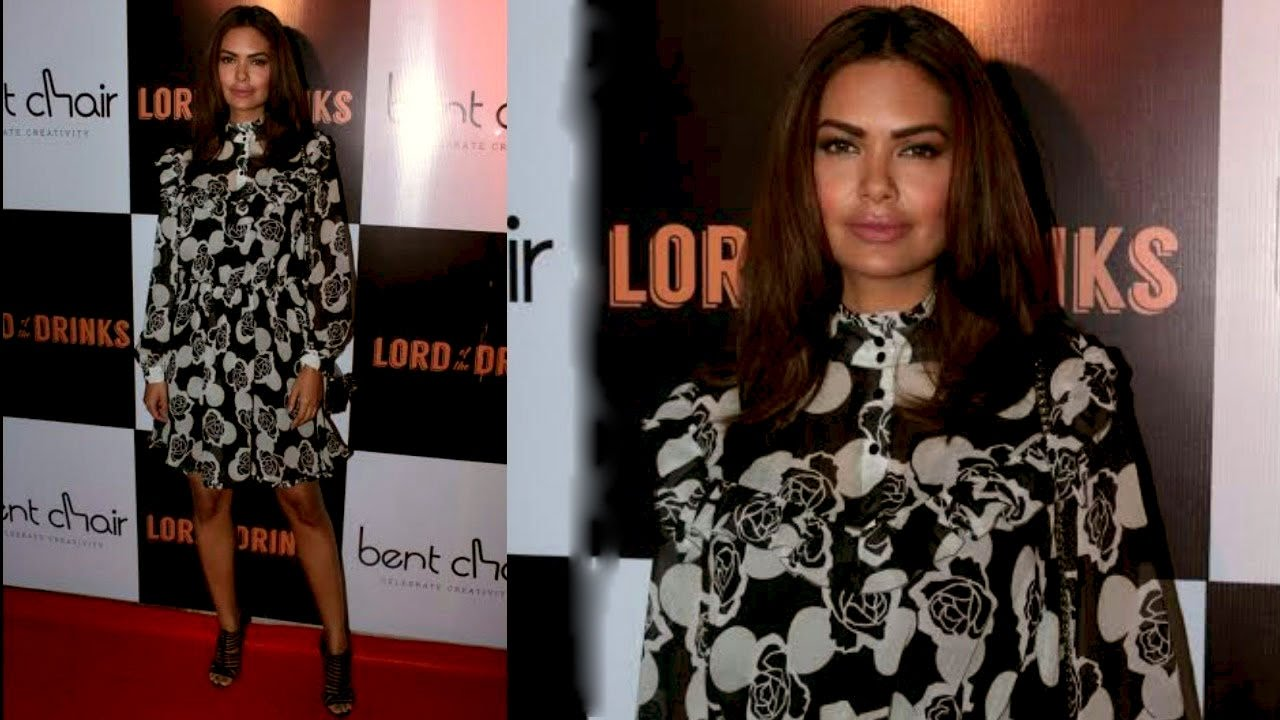 Esha Gupta At Launch Of Serial Restaurateur Priyank Sukhija's Stellar Resto