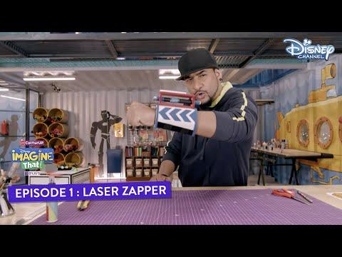 Disney Imagine That | Laser Zapper | Episode 1 DIY | Disney Channel