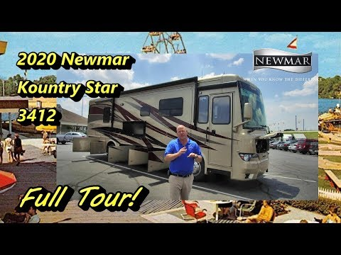 New 2020 Newmar Kountry Star 3412 | Mount Comfort RV