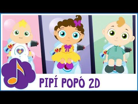Pipí popó (Canción animada para ir al baño)