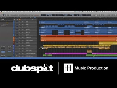 Logic Pro X Tutorial: New Features – Mixing a Song Using 'Track Stacks' w/ Bill Lee