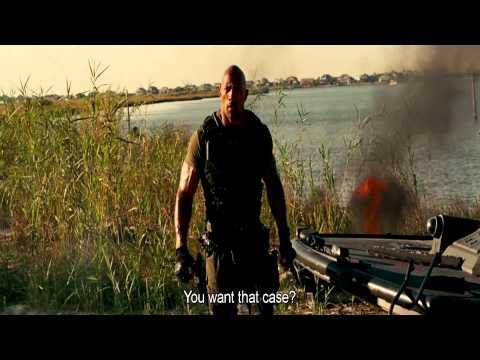 G.I.Joe Retaliation - Roadblock vs Firefly End Fight Scene HD