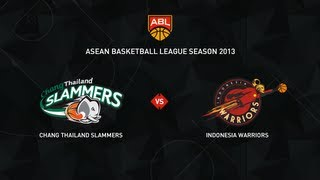 ABL 2013 Season Game 39: Sports Rev Thailand Slammers Vs Indonesia Warriors