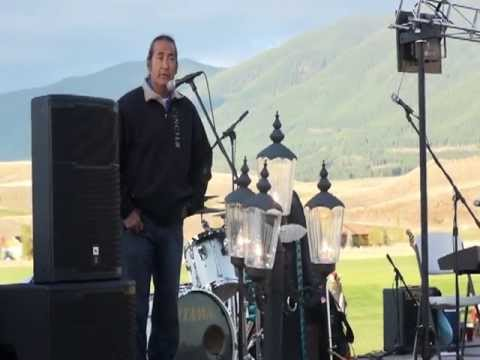 deerfest - Opening ceremony for Deerfest-Blessing of the Hunt with Kenny Lee Lewis of The Steve Miller Band and Kootenai Tribal member Mike Kenmille. Deerfest is an ann...