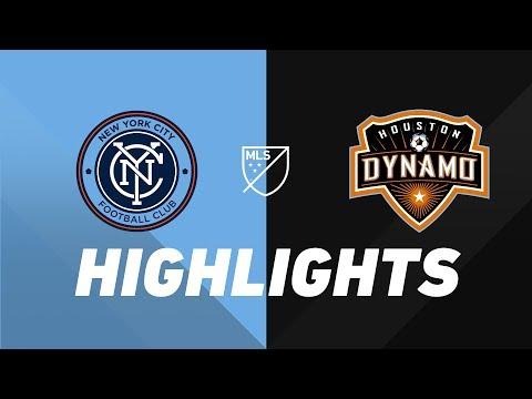 Video: NYCFC vs. Houston Dynamo | HIGHLIGHTS - August 8, 2019