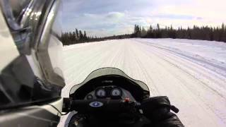 3. POLARIS XC-SP 600 Drag Race 2015