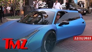 Justin Bieber Busted for Chirping Out His Ferrari   TMZ