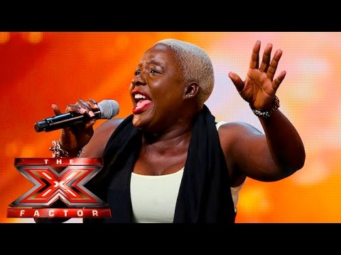 Jennifer Phillips risks Mary Mary's Shackles   Auditions Week 1   The X Factor UK 2015